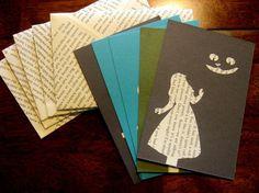 Briefumschläge und Grußkarten mit Buchseiten dekorieren Mehr
