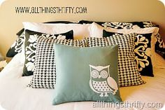 Cameo Silhouette ideas - owl pillow