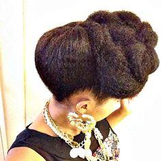 Sherane's hair beautiful