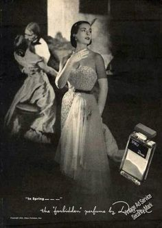 Vintage Perfume Ads...what's not to love.