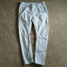 Diesel Railroad Stripe Fayza Jeans 26 Gently pre-owned and in EUC minus one tiny discolored spot below the left back pocket (see last pic). Really hard to notice but I wanted to mention it! Diesel Jeans Boyfriend