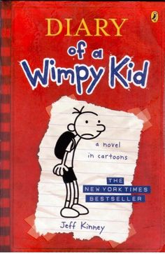 The Diary of a Wimpy Kid  by Jeff Kinney- Paperback - S/Hand