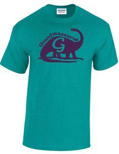 Grandma Dinosaur Tshirt Grandmasaurus dinosaur by FreshFrogTees
