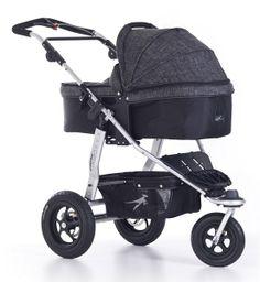 Der neue #TFK #Joggster #Twist #Kinderwagen mit #Quick-Fix Wanne im #Premium #Melange #Anthrazit Design
