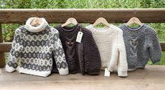 Verdens sødeste ugletrøje får du strikket selv - det er da helt sikkert. Du finder gratis opskriften her: http://wadils.dk/page/gratis-strikkeopskrifter-19/