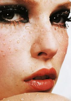 Polina Kouklina for Vogue Nippon Beauty october 2003