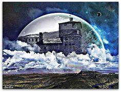 � � Ancora un gioco di sovrapposizioni ... � � per illustrare quegli spazi della mente in cui limmaginazione crea un mondo fantastico dove si realizzano i nostri desideri, le nostre speranze... � � � � � �...
