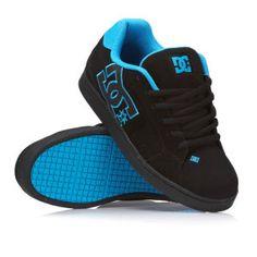DC Net Shoes - Black/Turquoise