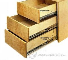 Build Cabinet Drawer Boxes   Build Drawers   Drawer Construction And  Techniques   Woodwork, Woodworking, Woodworking Plans, Woodworking Projects