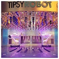 The Tipsy Robort- A Vegas Bar – Adventures and Bucket List