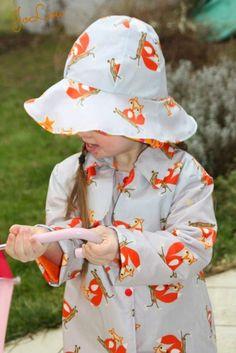 JoLou: TrendyTrench kann auch ein Regenmantel werden mit beschichteter Baumwolle