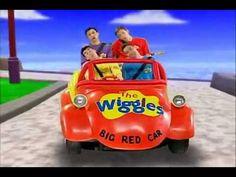 ▶ The WIGGLES Toot toot chugga chugga big red car - YouTube