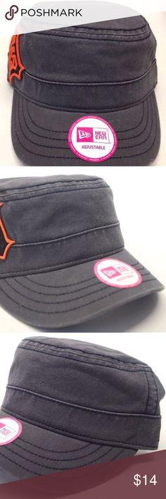 c2d4b9b27cd Detroit Tigers Women s Gray New Era Cadet Hat MLB Detroit Tigers Women s  Gray New Era Cadet