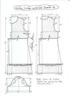 Amazing Sewing Patterns Clone Your Clothes Ideas. Enchanting Sewing Patterns Clone Your Clothes Ideas. Diy Vestidos, Vestidos Vintage, Sewing Basics, Sewing For Beginners, Sewing Patterns Free, Clothing Patterns, Sewing Courses, Make Your Own Clothes, Dress Making Patterns
