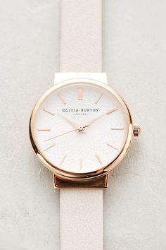 Blush Watch - anthropologie.com