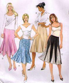 Fabulous Gored Skirt Pattern..
