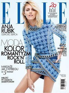 Elle Magazine Poland April 2014