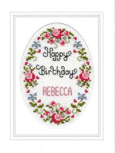 Happy+Birthday+cross+stitch+card+kit