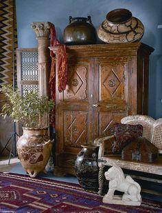 wohnungseinrichtung wohnideen spanischer kolonialstil dekoideen stoffmuster