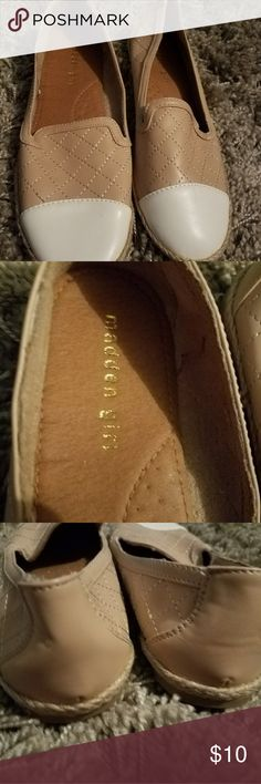 Madden girl flats Super cute Madden girl flats. Excellent condition. Madden Girl Shoes Flats & Loafers