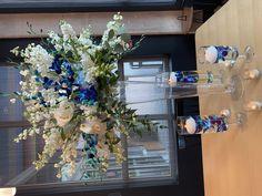 Reception Decorations, Table Decorations, Tablescapes, Floral Wreath, Wreaths, Elegant, Modern, Beautiful, Design