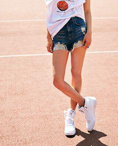 Shop here : sthsweet.com  #denim #dress #teen #cute #blue #style #chic #girl #street #skirt #jeans