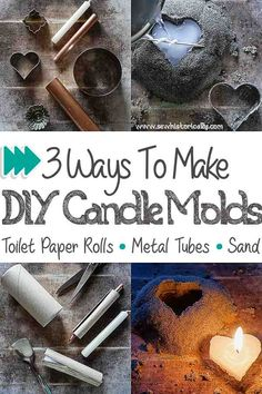 Sand Candles, Natural Candles, Diy Candles, Diy Candle Business, Beeswax Recipes, Bee Wax, Fun Craft, Candle Craft, Candlemaking