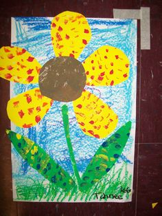 """Kindergarten inspired by Eric Carle's """"The Tiny Seed"""""""