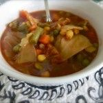 Grandma's Veggie Soup! {Roomag}