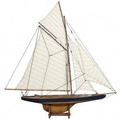 Authentic Models 1901 America's Cup Columbia Yacht Sailboat Wooden Ship Models, Sailboat Models from AM USA. Columbia, Feng Shui, J Class Yacht, Model Sailboats, Sailboat Yacht, Sailboat Plans, Small Yachts, Classic Sailing, Classic Yachts