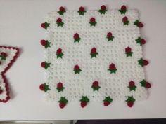 Kare çiçekli lif