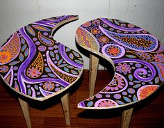Yin Yang Coffee Table for Aimee in Miami by Rick Cheadle Art and Designs, via Flickr