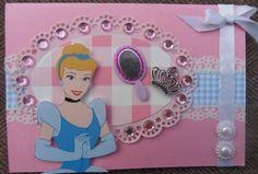 scrapbook card Disney princess