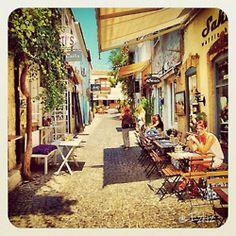 Instagram @izkiz: Streets of Alacati.