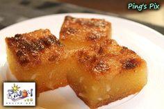 Filipino Cassava Cake... just made 2 pans! Yummy!!!
