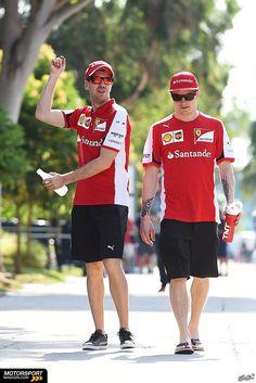 #Kimi #KimiRaikkonen #Raikkonen #Iceman #F1 #Sepang #MalaysianGP #ScuderiaFerrari #MalGP #redseason Friday (march 27,2015) pic17