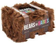 Bears vs Babies by Exploding Kittens - A Monster-Building Card Game - Family-Friendly Party Games - Card Games For Adults, Teens & Kids Sleepover Games, Adult Party Games, Adult Games, Sleepover Party, Pajama Party, 2 Person Card Games, Family Card Games, Facade Game, Packaging
