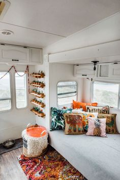 Obsessed with this renovated camper!