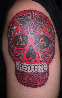 1000 images about tattoo ideas on pinterest celtic for Celtic skull tattoo
