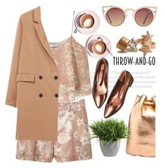 The bronze age by pensivepeacock on Polyvore featuring polyvore fashion style MANGO Mi-Pac Wildfox Quay Ethan Allen Martha Stewart clothing