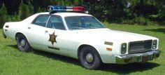 Iconic TV Cars | Roscoe's car The Dukes Of Hazzard | Famous Tv Cars