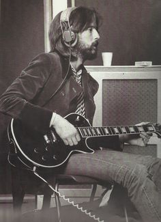 Eric Clapton, 1969. Photograph by Barrie Wentzell