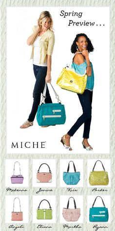 Miche's January 2012 New Releases