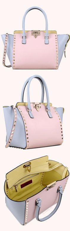 Brilliant Luxury by Emmy DE * Valentino Watercolor Rockstud Cross Body Bag SS 2015