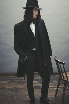 Ozwald Boateng AW12 Collection Lookbook