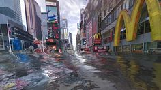 'World Under Water' Uses StreetView to Visualize Flooding From Climate Change Questionably accurate, but makes a dramatic point By David Gianatasio