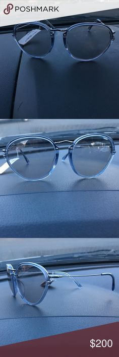Tods sunglasses Tods sunglasses made in Italy. Grayish blue with transparent-style lenses. Silver tone hinge accents. Brand new w tags. Originally $395 Tod's Accessories Sunglasses