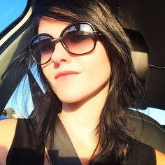 On my way #selfie #girl #woman #beauty #lady #summer #summerfeeling #sunglasses
