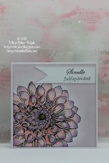 big dahlia from stampendous