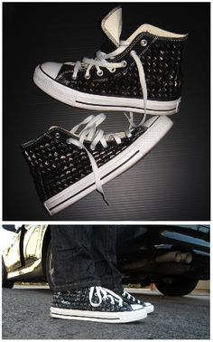 Dude, PLEASE?? I want some studded converse!!